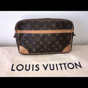 Authentic Louis Vuitton cosmetics case clutch 28